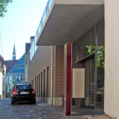 Gewerkschaftshaus Ulm Eingang