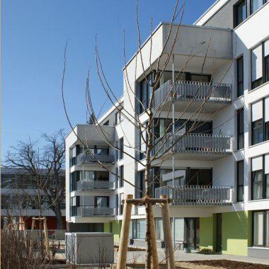 Mehrgenerationenhaus mit Kindergarten in Ulm