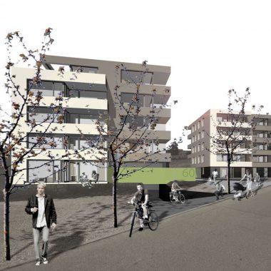 Neubau Wohngebäude Virchowstrasse Ulm
