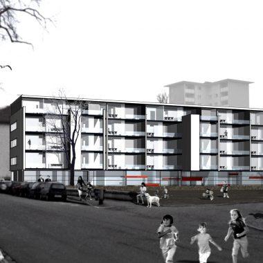 Mehrgenerationenwohnhaus mit Kindergarten l Ulm