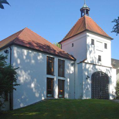 Neubau Toilettenanlage u. energet. Sanierung Reisensburg
