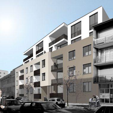 Mehrfachbeauftragung Wohnbau Sedanstrasse l Ulm