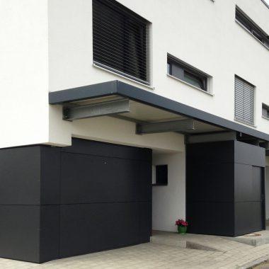 Neubau von 7 Reihenhäusern in UIm Wiblingen