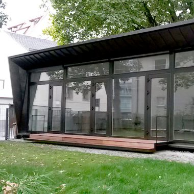 Neubau Pavillon für die Familienbildungsstätte l Ulm